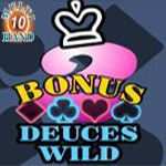 Bonus Deuces Wild (10 Hands)